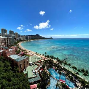 初ハワイ!Vol.3 「ホテルのお部屋から」