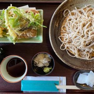天ぷら蕎麦ランチ