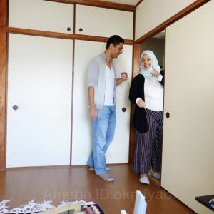 イエメン学生夫婦からの手作りランチの招待!昭和皇后手描き葡萄柄帯締めて