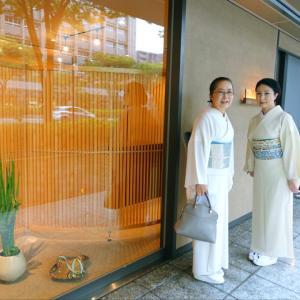 祇園祭りのない初めての夏、新しい着物の出来上がり!夏らしい帯〆を探して