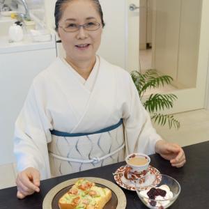 昔も今もおしゃれな女性を魅了する「江戸硝子かんざし」!和装オールホワイトコーデ