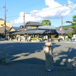 戻りつつある京都の人出?!時代祭り!民藝の父柳宗悦ゆかりの柳嵩の帯締めて