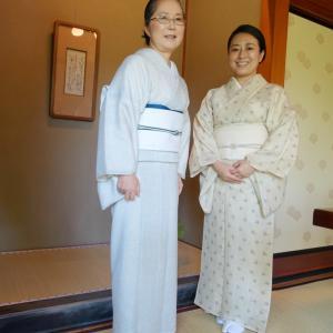 宮家ゆかりの料理旅館・吉田山荘!ここにしかないおもてなし!小千谷縮の着物で