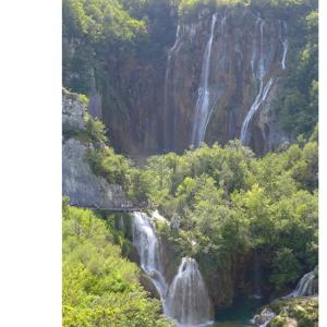 プリトゥヴィツェ滝(2018/8/24の再掲)