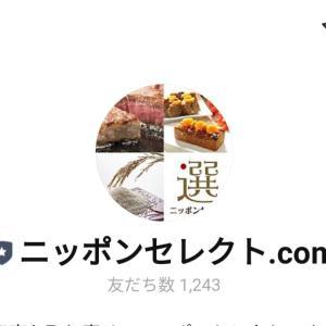 ニッポンセレクトLINE友達追加で500円分安ポチ可能!