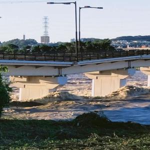 19号の影響で日野橋崩壊?!