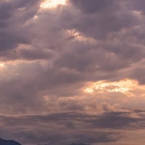 11月25日(月)ダイヤモンド富士-平山陸橋 ✗