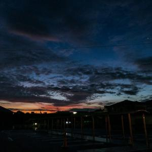 7月24日(金)日の出を期待して高幡山