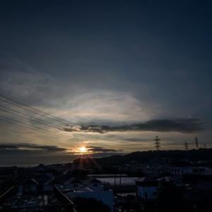8月2日(日)早朝ウォーキング-兎に角歩く