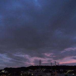 10月22日(木)曇り空の朝も歩く!!