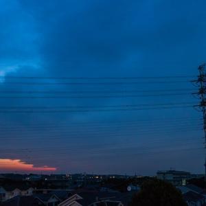 6月2日(水) ? 空は全面の雲だが、歩いた!