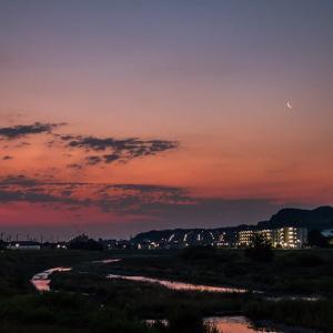 6月8日(火) 日の出を求めて夜明け前散歩