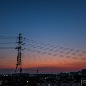 6月10日(木) 国分寺ツインタワーと日の出! を狙う