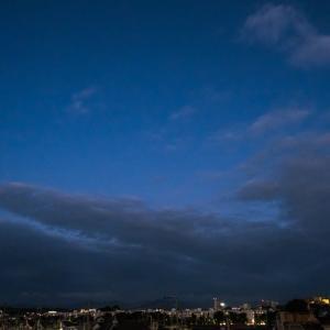 9月16日(木) 暗闇散歩復活-チラッと日の出・彼岸花がチラホラ