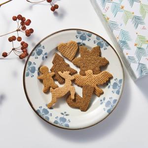 dinosさんと「クリスマスオーナメントクッキー」作りました♪