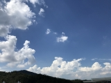 またまた怪しげな雲
