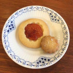 昭和クッキー・アレンジ版(ジャムのせ)