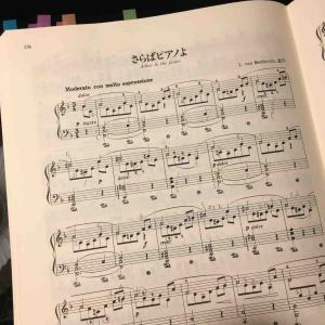 伝ベートーヴェン「さらばピアノよ」