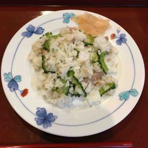 簡単でおいしい「ゴーヤとツナの混ぜ寿司」