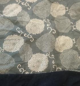 昭和の型染め布団皮