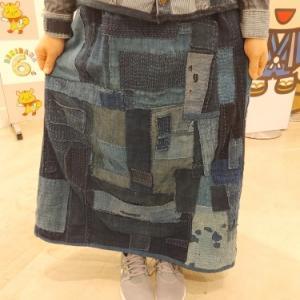 今日の古布ファッション