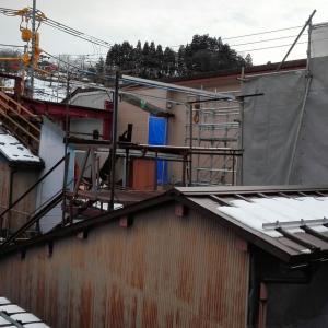 日医工八尾別館建築工事の観察記録その6
