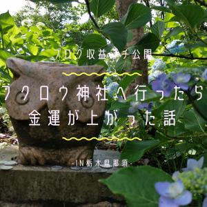 【ブログ収益プチ公開】フクロウ神社へ行ったら金運が上がった話-in栃木県那須-