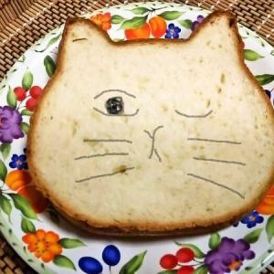 可愛すぎる美味しい食パン 「ねこねこ食パン」