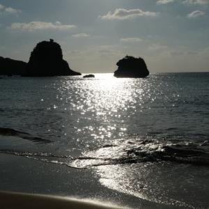 星野リゾート 西表島ホテル   月ヶ浜の砂浜へ