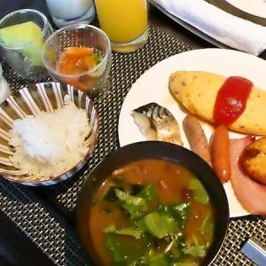 「ザ・リッツ・カールトン大阪」  クラブラウンジにて朝食