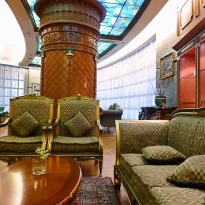 ブルネイ旅行記 「リックン・インターナショナルホテル」 VIP待合室?