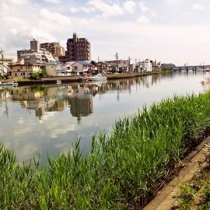 名古屋  東海道唯一海路「七里の渡し (宮の渡し)」 その2