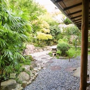 土肥温泉の庭園旅館 「玉樟園新井」 お庭散策