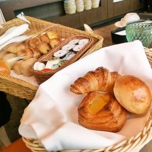 3月の京都旅 「ホテルオークラ  17F トップラウンジ オリゾンテにて朝食」