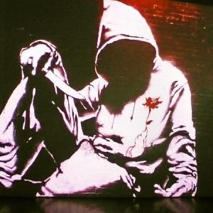 BANKSY バンクシー展 「天才か反逆者か・・・アーティスト・スタジオと作品その1」