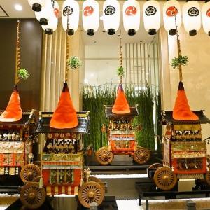7月の京都 「祇園祭の山鉾建」 霰天神山と孟宗山