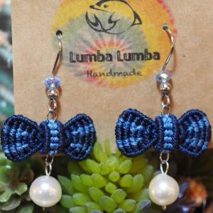 マクラメ編みアクセサリー作家様『lumba lumba』さんの作品紹介です。