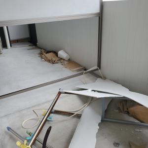 災害備忘録 ~台風でベランダの仕切り板が破損した話~