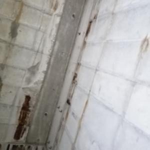 浴室のセパ折り