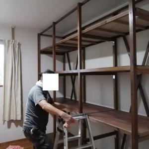 棚を動かしまーす