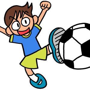 今日のイラスト122「サッカー少年」