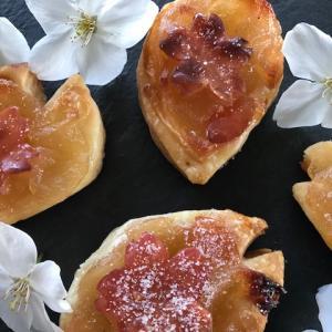 桜パイでも作りましょう!