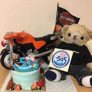 誕生日ケーキは、ステッカーデザインで!