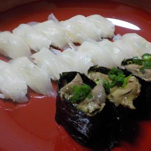 久しぶりのカワハギのお寿司