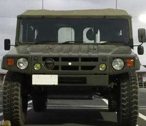 自衛隊 高機動車(実車)