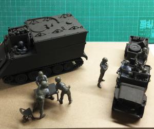 タミヤ・M557コマンドポスト(5)