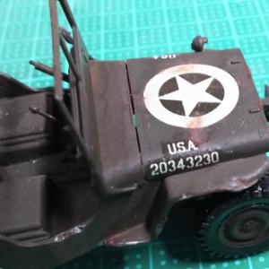 タミヤ・M557コマンドポスト(8)