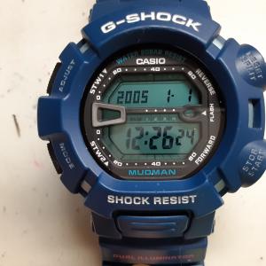 G-SHOCK電池交換