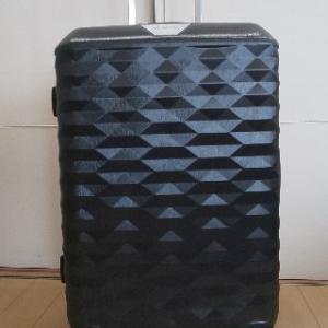 スーツケースを買いました。 サムソナイトの ポリゴン は靴を箱ごと収納できます。