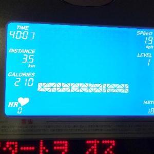 やっと5分間続けて走れるようになりました。